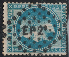 EMPIRE - N°29B - LOSANGE AMBULANT - EP2° - COTE AMBULANT 7€ . - 1849-1876: Classic Period