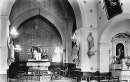 Sologny La Croix Blanche Canton Mâcon église Intérieur éd Combier - Other Municipalities
