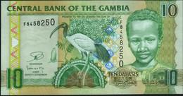 ♛ GAMBIA - 10 Dalasis Nd.(2006-2013) UNC P.26 C - Gambia