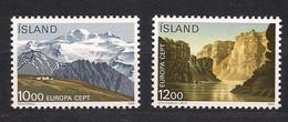 Cept 1986 Islande IJsland Yvertn° 601-02 *** MNH Cote 16 € - Ohne Zuordnung