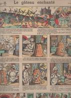 Image D'Epinal Publicitaire Grand Format : DELESPAUL HAVEZ (Lille)  Le Gâteau Enchanté   (CAT 2061) - Reclame