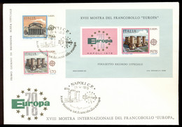 Italy 1978 Europa + MS XLFDC - 6. 1946-.. Republic