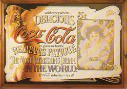 Ref EX : CPM Carte Postale Coca Cola - Cartes Postales