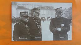 Les Grands Chefs De Nos Armees - Castelnau , Joffre , Pau - Characters