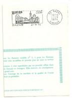 GIRONDE - Dépt N° 33 = BAZAS 1974 = FLAMME FDC Type II = SECAP Illustrée ' VILLE D' ART / Tourisme - Gastronomie ' - Mechanical Postmarks (Advertisement)