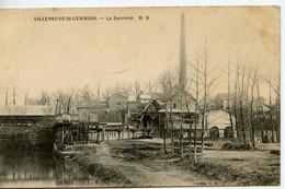 2376. CPA 02 VILLENEUVE SAINT GERMAIN. LA SUCRERIE - Sonstige Gemeinden