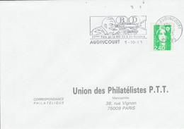 1 ER JOUR FLAMME 11 EME FOIRE DE LA BD à AUDINCOURT DOUBS 1993 - Mechanical Postmarks (Advertisement)