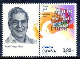 Spain 2011 España / Literature Nobel Prize Vargas Llosa MNH Literaturnobelpreis Premio Nobel De Literatura / Gi18  5-5 - Premio Nobel