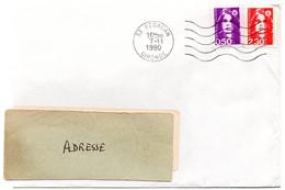 GIRONDE - Dépt N° 33 = BEGADAN 1990 =  FLAMME Codée à DROITE = SECAP Muette '5 Lignes Ondulées' - Mechanical Postmarks (Advertisement)