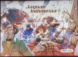 INDONESIA WHIZ 2019 ( COMIC STAMP ) S/S - Indonesia