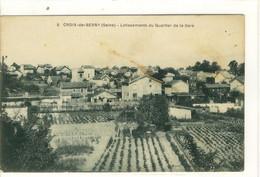Carte Postale Ancienne Croix De Berny - Lotissement Du Quartier De La Gare - Antony - Antony