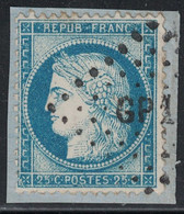 CERES - N°60 - LOSANGE AMBULANT - GP1°. - 1849-1876: Classic Period