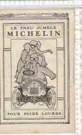 XE  //  PAGE PUBLICITAIRE Ancienne  MICHELIN PNEUS // PNEU JUMELE ELEPHANT POIDS LOURD - Werbung