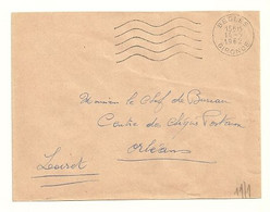 GIRONDE - Dépt N° 33 = BEGLES 1962 = FLAMME Non Codée = SECAP Muette '5 Lignes Ondulées' FRANCHISE - Mechanical Postmarks (Advertisement)