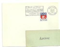 GIRONDE - Dépt N° 33 = BEGLES 1966 =  FLAMME Non Codée = SECAP Multiple ' Les PTT Vous Offrent SITUATIONS ... - Mechanical Postmarks (Advertisement)
