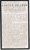 INGELMUNSTER  - DIKSMUIDE , ACHILLE DELAERE ....GESNEUVELDE + 1915 - Religion & Esotericism