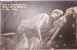 Cartolina - R. De Liguoro (Eunica) - A. Habay (Petronio) In Quo Vadis - 1920 Ca. - Sonstige
