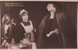 Cartolina - Attrice Italia Almirante In ( La Statua Di Carne ) - 1920 Ca. - Sonstige