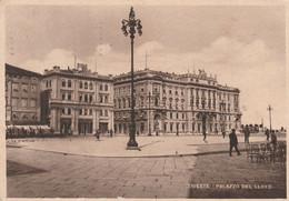 Cartolina  - Postcard /  Viaggiata  - Sent  /  Trieste, Palazzo Del LLoyd.   ( Gran Formato ) Anni 40° - Trieste
