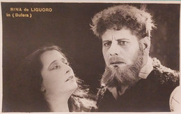 Cartolina - Cinema - Attrice Rina De Liguoro In ( Bufera ) - 1920 Ca. - Sonstige