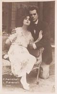 Cartolina - Cinema Muto - P. Menichelli E L. Pavanelli - 1920 Ca. - Other