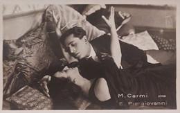 Cartolina - Cinema Muto - M. Carmi E E. Piergiovanni - 1920 Ca. - Other