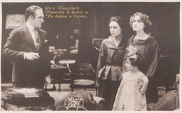 Cartolina - Cinema Muto - Pina Menichelli E Marcella Sabatini - 1920 Ca. - Other
