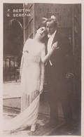 Cartolina - Cinema Muto - F. Bertini E G. Serena - 1920 Ca. - Other