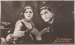 Cartolina - Cinema Muto - Ely Sambucini E Emilio Ghione - 1920 Ca. - Sonstige