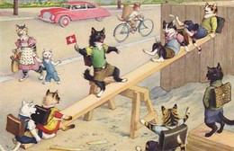 Katzenkinder Auf Der Gygampfe - Verl. Künzli              (P-280-00715) - Gatos