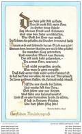 DEUTSCHES REICH Postkarte Postcard AK Brief - Gedicht - Eleonore Fürstin Von Reuß - Gießen Neustadt N. ? (2 Scan)(70998) - Briefe U. Dokumente