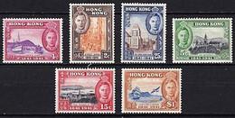 HONG KONG 1941 CENTENARY OF BRITISH OCCUPATION SET SG163-8 LIGHTLY MOUNTED MINT - Hong Kong (...-1997)