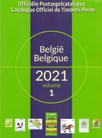 OFFICIELE CATALOGUS BELGIE 2021 OBP COB - België