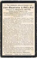 INGELMUNSTER  - MEULEBEKE  - AMERSFOORT - JAN BAPTISTA LINCLAU - OORLOGSLACHTOFFER + 1917 - Religion & Esotericism