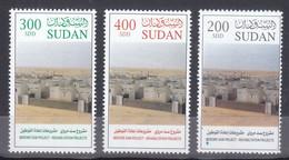 Stamps SUDAN 2005 SC 582 584 MERWE DAM MNH SET CV$12 # 36 - Sudan (1954-...)