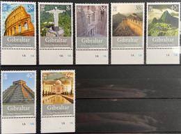 Gibraltar MNH 2008 - The New 7 Wonders Of The World - Gibraltar