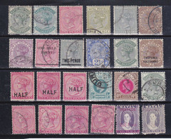 Natal (1877-1903)   23 VALORI TIMBBRATI  MNH** MLH *  VEDI SCANSIONE - Natal (1857-1909)
