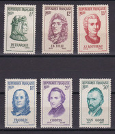 D222 / LOT N° 1082/1087 NEUF** COTE 18€ - Verzamelingen