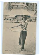 V922/ Sumatra Niederländisch-Indien  Batak Meid AK 1913 - Sin Clasificación