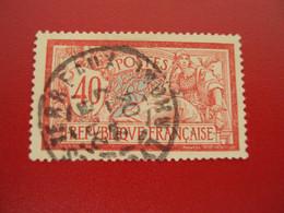 """1900-27-  TYPE  MERSON - Oblitéré -  ++  - N° 119 """" 40c Rouge """"   """"  """"LYON, Terreaux""""   Net  1 - 1900-27 Merson"""