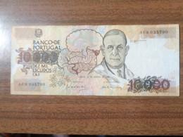 10000 ESCUDOS 1989 TTB - Portogallo