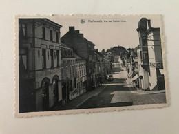 Carte Postale Ancienne MORLANWELZ Rue Des Nations Unies - Morlanwelz