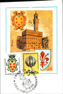 22820) ITALIA-CARTOLINA MAXMUM 170 LIRE Firenze E La Toscana Dei Medici - 2 Luglio 1980 - 6. 1946-.. Republic