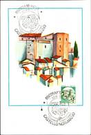 22824) ITALIA-CARTOLINA MAXMUM 300 LIRE Castelli D'Italia - Valori Complementari, Formato Ridotto  30 Settembre 1981 - 6. 1946-.. Republic
