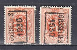 5629 Voorafstempeling Op Nr 276 - GOSSELIES 1930 - Positie A & B - Roller Precancels 1930-..