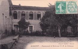 Gimont, Pensionnat Et Externat Notre-Dame De Cahusac - Sonstige Gemeinden