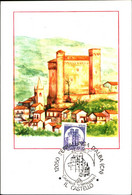 22832) ITALIA-CARTOLINA MAXMUM 170 LIRE Castelli D'Italia - Valori Complementari, Formato Ridotto  3 Settembre 1980 - 6. 1946-.. Republic