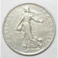 GADOURY 467 - 1 FRANC 1909 TYPE SEMEUSE - ARGENT - KM 844.1 - TTB - H. 1 Franco