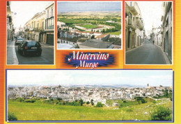 (BAT) MINERVINO MURGE, MULTIVEDUTA - Cartolina Nuova, Auto, Animata - Autres Villes