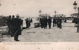SALONIQUE ( Grece ) - Réception De S.E Le Général Degiorgis Pacha A Salonique - Griekenland